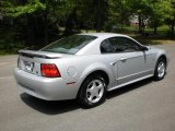 2002 Satin Silver Metallic Ford Mustang V6 Coupe #48981386