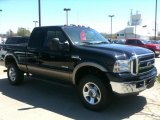 2005 Black Ford F350 Super Duty XLT SuperCab 4x4 #48981402