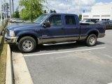 2004 Medium Wedgewood Blue Metallic Ford F250 Super Duty XLT Crew Cab #49051173