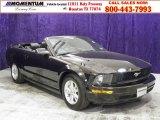 2005 Black Ford Mustang V6 Premium Convertible #49050982