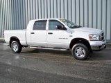 2007 Bright White Dodge Ram 1500 SLT Mega Cab 4x4 #4892434