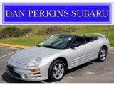 2003 Sterling Silver Metallic Mitsubishi Eclipse Spyder GS #49050777