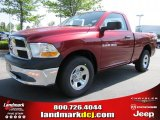 2011 Deep Cherry Red Crystal Pearl Dodge Ram 1500 ST Regular Cab #49050900