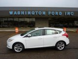 2012 Oxford White Ford Focus SEL 5-Door #49050989