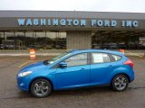 2012 Blue Candy Metallic Ford Focus SE Sport 5-Door #49050990