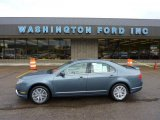 2011 Steel Blue Metallic Ford Fusion SEL V6 #49050992