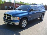 2005 Atlantic Blue Pearl Dodge Ram 1500 SLT Quad Cab #49051135