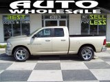 2011 White Gold Dodge Ram 1500 Big Horn Quad Cab #49051031