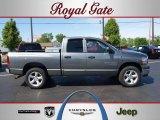 2006 Mineral Gray Metallic Dodge Ram 1500 SLT Quad Cab 4x4 #49050829