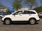 2009 Taffeta White Honda CR-V EX 4WD #49051266