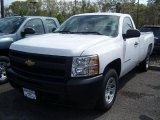 2011 Summit White Chevrolet Silverado 1500 Regular Cab #49085957
