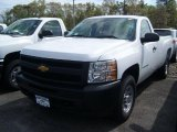 2011 Summit White Chevrolet Silverado 1500 Regular Cab 4x4 #49085959