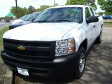 2011 Summit White Chevrolet Silverado 1500 LS Extended Cab #49085965