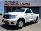 2007 Super White Toyota Tundra Regular Cab #49086012
