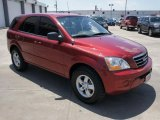 2008 Kia Sorento Spicy Red