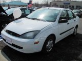 2004 Cloud 9 White Ford Focus LX Sedan #49086035
