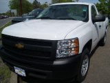 2011 Summit White Chevrolet Silverado 1500 Regular Cab #49085955