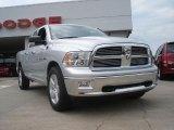 2011 Bright Silver Metallic Dodge Ram 1500 Big Horn Quad Cab #49090985