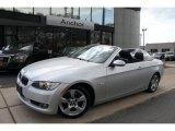 2007 Titanium Silver Metallic BMW 3 Series 328i Convertible #49090754