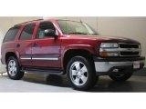 2005 Sport Red Metallic Chevrolet Tahoe LS 4x4 #49090999