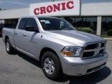 2011 Bright Silver Metallic Dodge Ram 1500 SLT Quad Cab #49090762