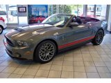 2011 Sterling Gray Metallic Ford Mustang Shelby GT500 SVT Performance Package Convertible #49090635