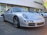 2007 Arctic Silver Metallic Porsche 911 Carrera S Coupe #49091012