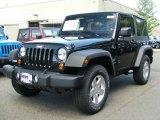 2011 Black Jeep Wrangler Sport S 4x4 #49091028