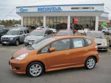 2011 Orange Revolution Metallic Honda Fit Sport #49090902