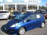 2011 Vortex Blue Pearl Honda Fit Sport #49090903