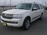 2007 White Chocolate Tri-Coat Lincoln Navigator L Luxury #4892462