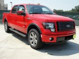 2011 Race Red Ford F150 FX4 SuperCrew 4x4 #49090806