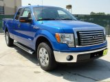 2011 Blue Flame Metallic Ford F150 XLT SuperCab #49090808