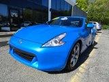 2009 Monterey Blue Nissan 370Z Coupe #49091067