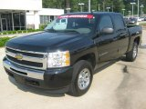 2010 Black Granite Metallic Chevrolet Silverado 1500 LS Crew Cab 4x4 #49090944