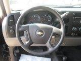 2010 Chevrolet Silverado 1500 LS Crew Cab 4x4 Steering Wheel