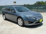 2011 Steel Blue Metallic Ford Fusion SE #49090812