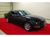 2005 Black Ford Mustang V6 Deluxe Coupe #49090700