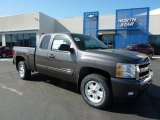2011 Taupe Gray Metallic Chevrolet Silverado 1500 LT Extended Cab 4x4 #49090709