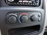 2002 Dodge Ram 1500 SLT Quad Cab Controls