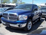 2008 Patriot Blue Pearl Dodge Ram 1500 ST Quad Cab 4x4 #49091094