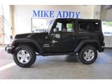 2011 Natural Green Pearl Jeep Wrangler Sport S 4x4 #49135810