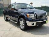 2011 Dark Blue Pearl Metallic Ford F150 Texas Edition SuperCrew 4x4 #49135828