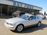 2009 Brilliant Silver Metallic Ford Mustang V6 Premium Coupe #49135656