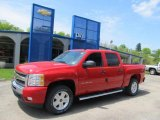 2011 Victory Red Chevrolet Silverado 1500 LT Crew Cab 4x4 #49135669