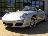 2009 Porsche 911 Arctic Silver Metallic