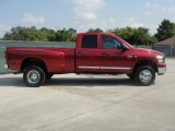 2009 Dodge Ram 3500 Inferno Red Crystal Pearl