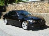 2008 Jet Black BMW 3 Series 335i Coupe #49135696
