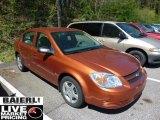 2007 Sunburst Orange Metallic Chevrolet Cobalt LS Sedan #49135482