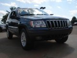 2002 Steel Blue Pearlcoat Jeep Grand Cherokee Limited 4x4 #49136059